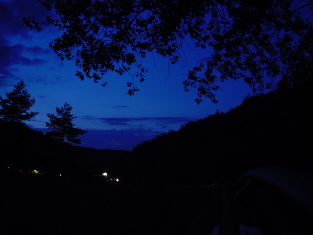 CZfree Camp @ night